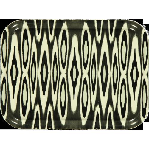 Coco Ikat black tray