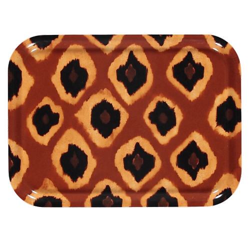 Tribal ikat tray