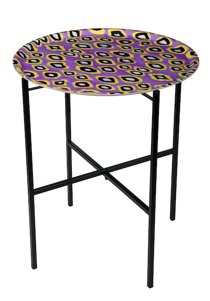 Coco ikat Pink traytable