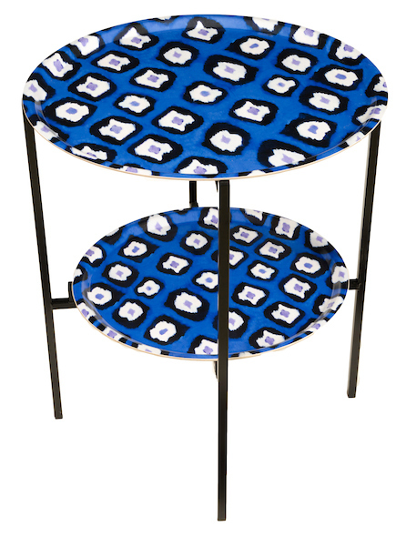 Electric Ikat Tray table
