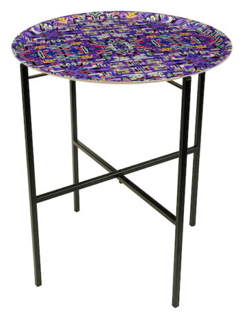 Jungle Fever Purple Tray table