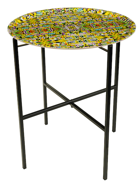 Jungle Fever Yellow Tray table