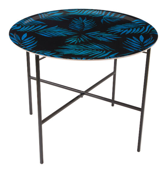 Palm Beach Blue tray table