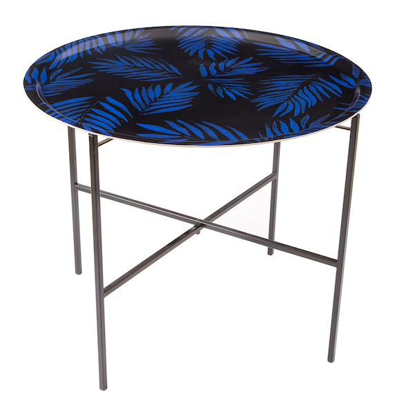 Palm beach cobalt tray table