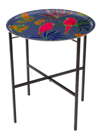 Singapore lilac tray table