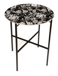 Tulipa Black Tray table