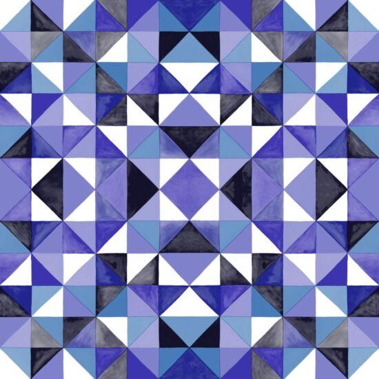 Mariska Meijers Behang blue wallpaper behang