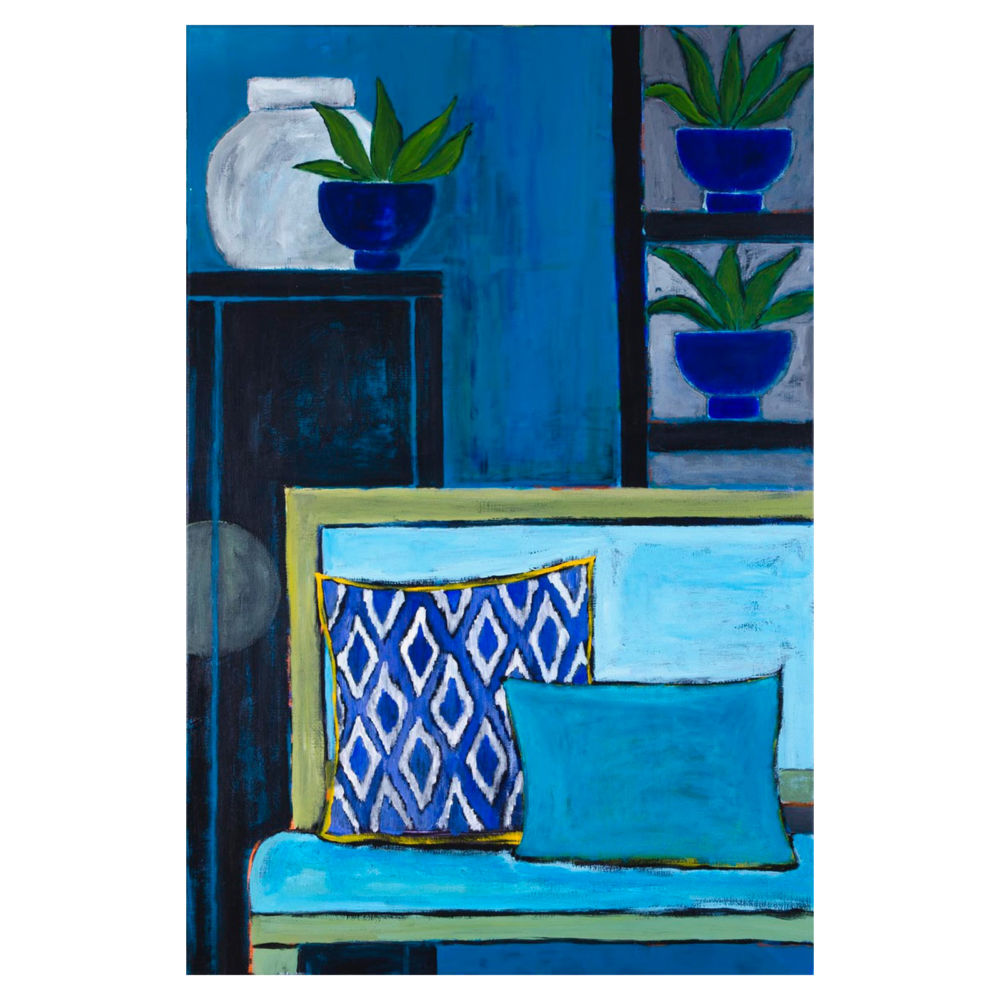 Mariska Meijers Amsterdam - Blue Interior
