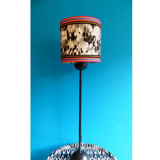 Tulipa black lampshade
