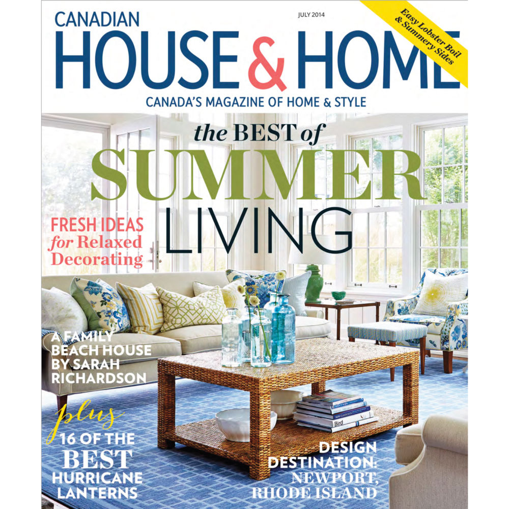 House and Home canada july 2014 | Press | Mariska Meijers Amsterdam