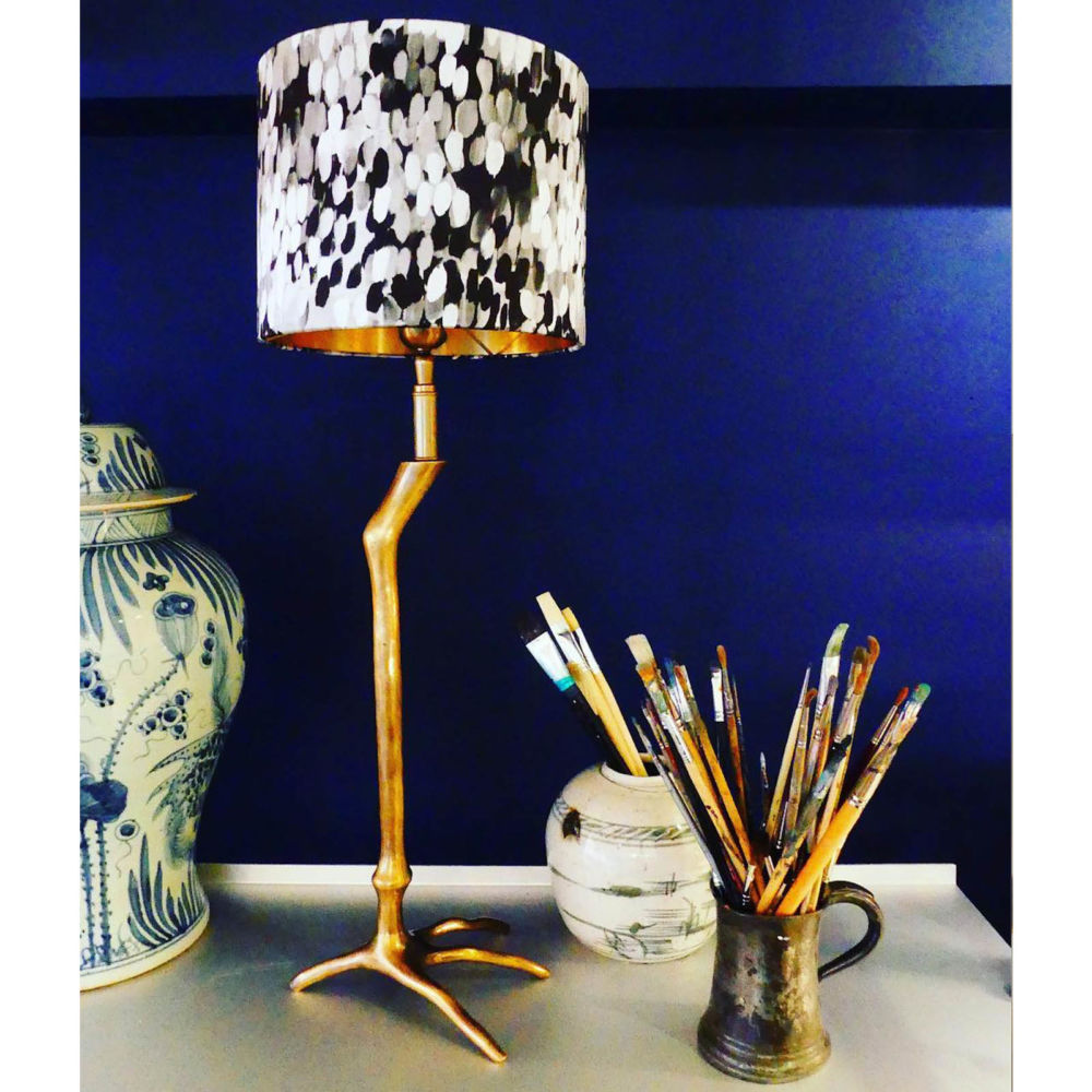 Tulipa black lampshade