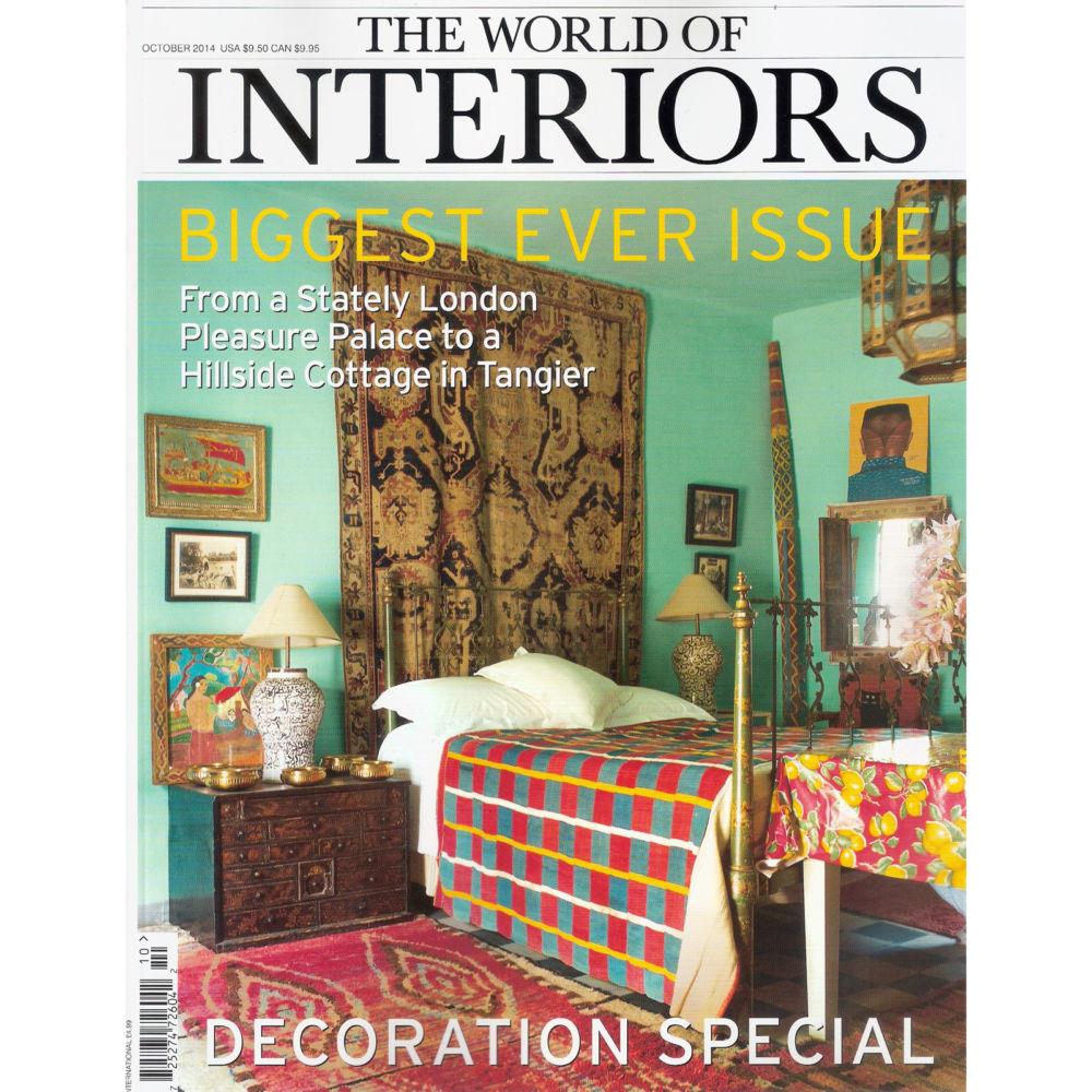 World of Interiors october 2014
