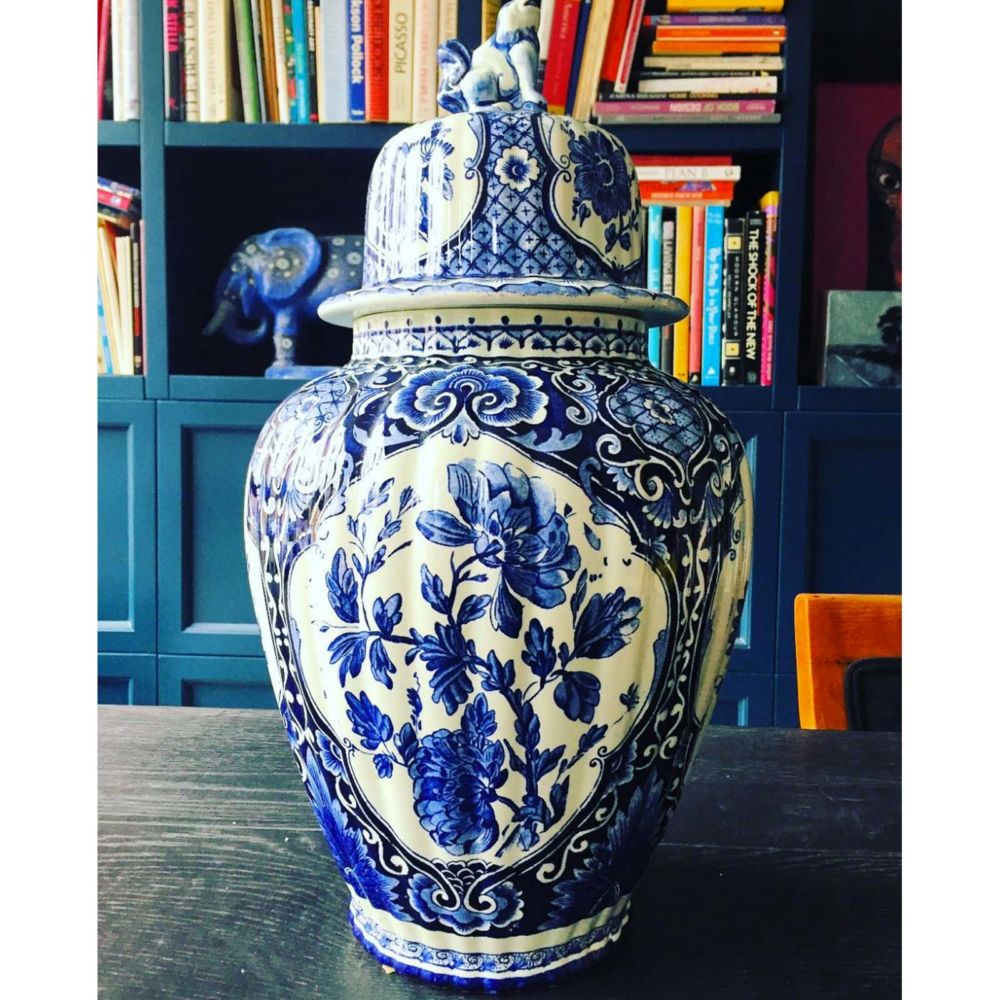 Delft Blue Jar