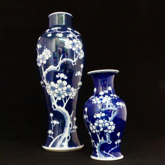 Blue chinese vases | Mariska Meijers Amsterdam