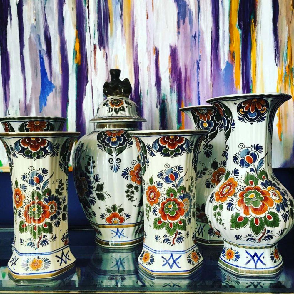 Delft polychroom holland handwerk | Mariska Meijers Amsterdam