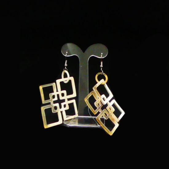 Horn earrings | Mariska Meijers Amsterdam