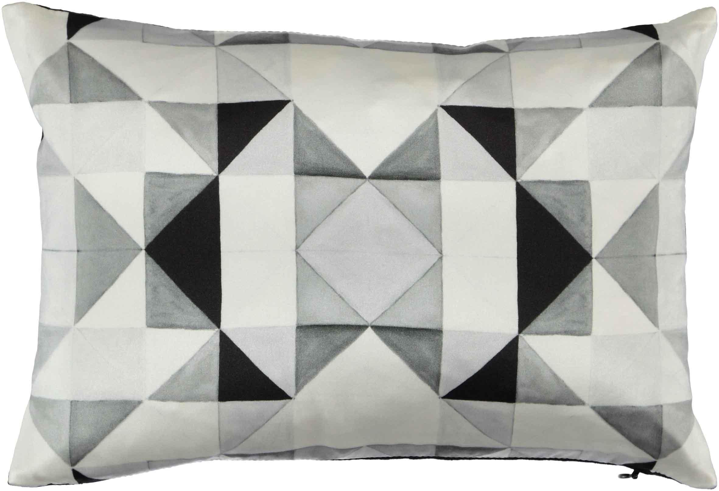 Bold Cubsim Black Pillow - 25 x 35