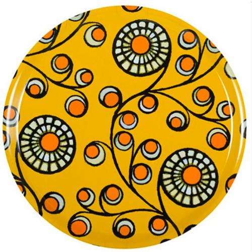 Graphic Daisy Yellow Tray | Mariska Meijers Amsterdam