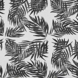 Palm beach black white linen | Mariska Meijers Amsterdam