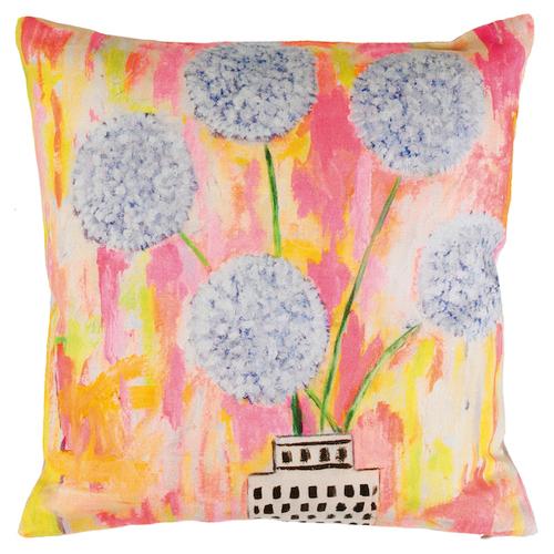 White Allium Pillow | Mariska Meijers Amsterdam