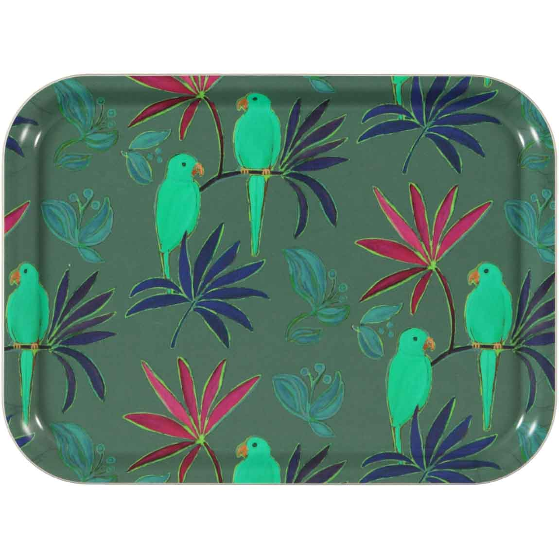 singapore green Tray - 27 x 20
