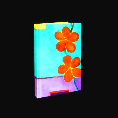 Notebook Red blossom | Mariska Meijers Amsterdam