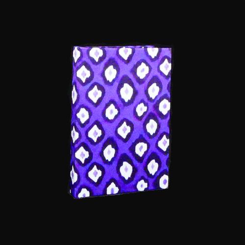 Notebook micro ikat purple   Mariska Meijers Amsterdam