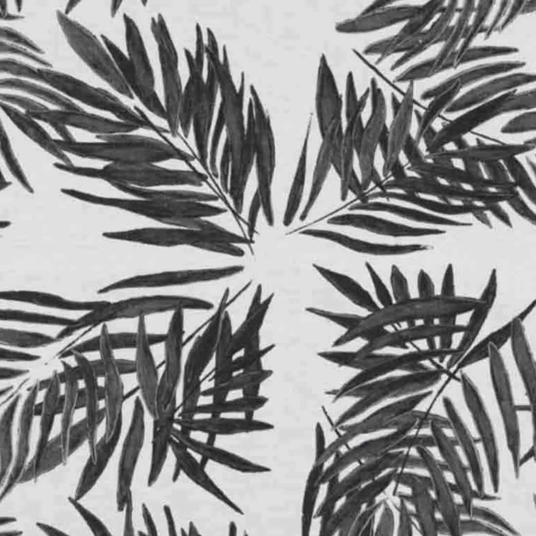 Palm Beach Black Linen Napkin | Mariska Meijers Amsterdam