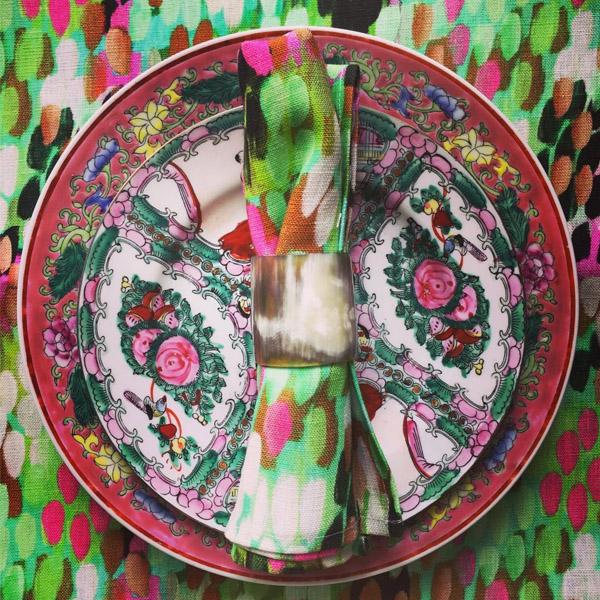 Tulipa Green Napkin | Mariska Meijers Amsterdam