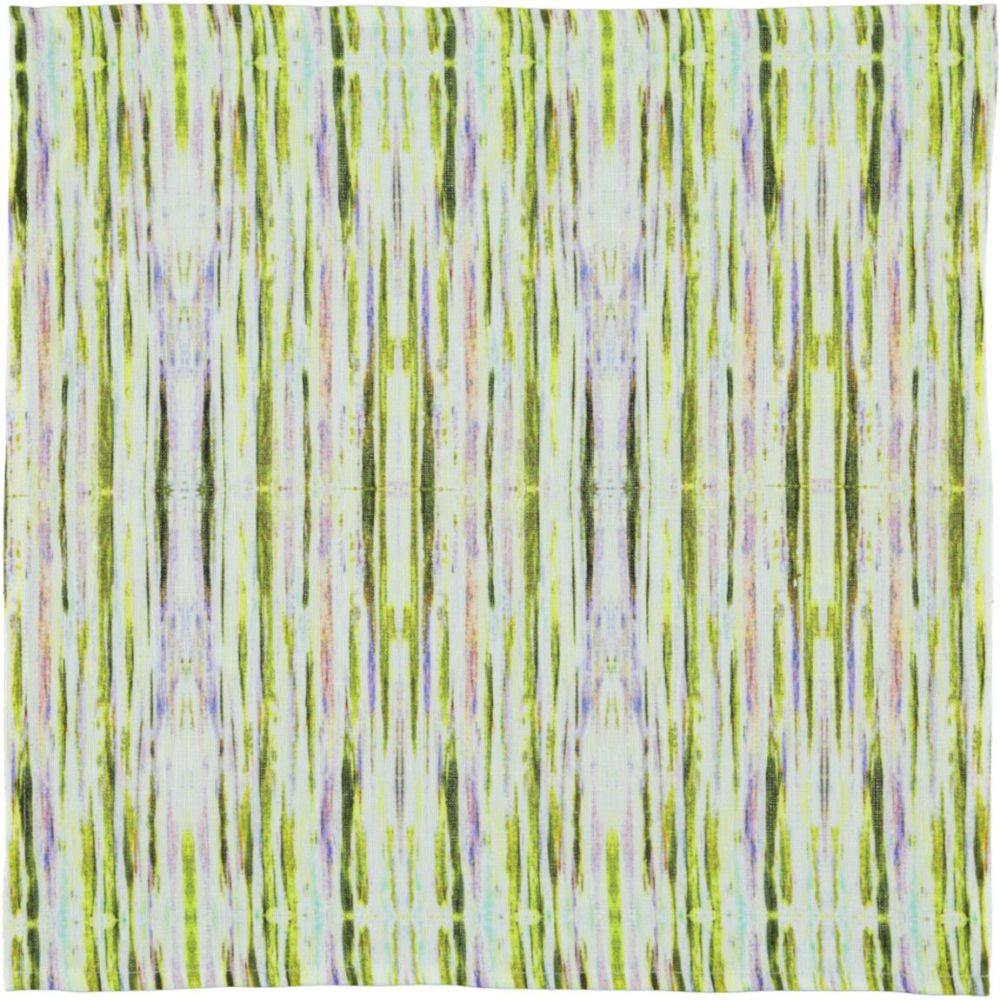 botanical stripes napkin | Mariska Meijers Amsterdam