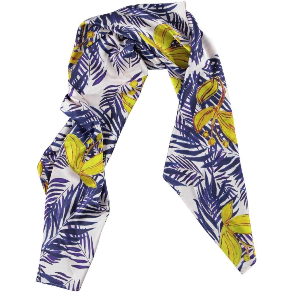 carré tropical yellow scarf | Mariska Meijers Amsterdam