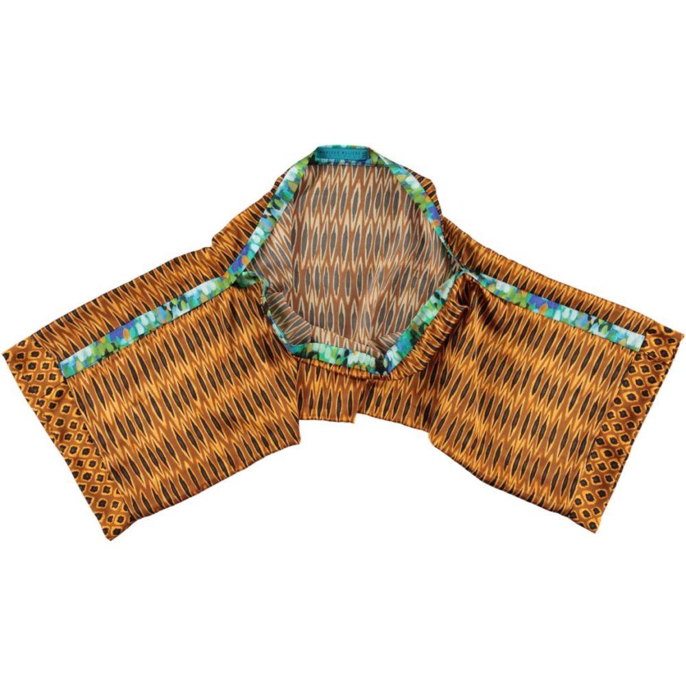 multi scarf tribal ikat | Mariska Meijers Amsterdam