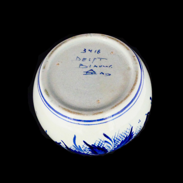 Delft blue vintage vase