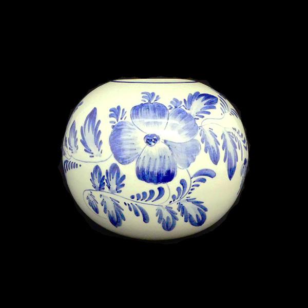 Vintage Delft Blue Vase Mariska Meijers Amsterdam