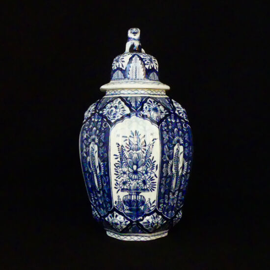 Delft Blue Chinese Vase
