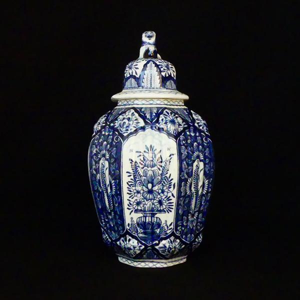 Delft Blue Chinese Vase