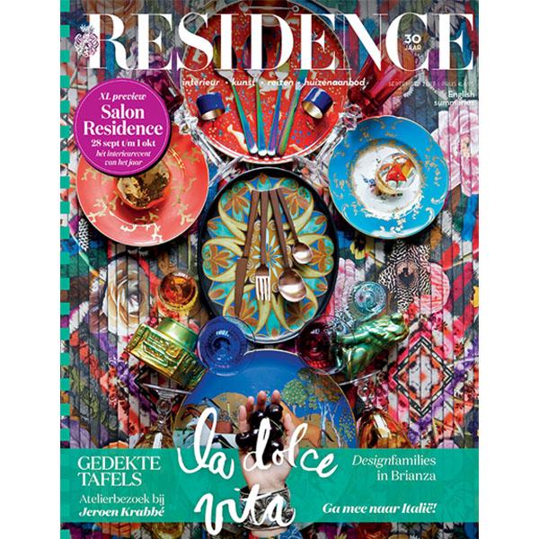 Residence september 2017 | Cover | Press