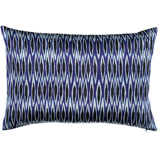 tribal ikat delft blue | Mariska Meijers Amsterdam