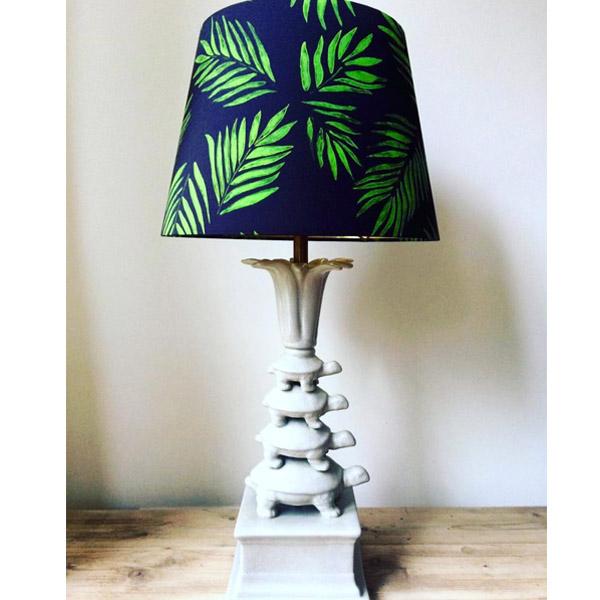 Turtle tower lamp white | Mariska Meijers Amsterdam